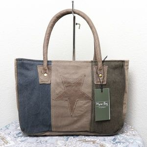🆕Myra Bag STAR CANVAS Handbag Vintage Bag Women